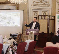 Szakmai reggeli Budapest fejlesztési irányairól Bukta Péterrel